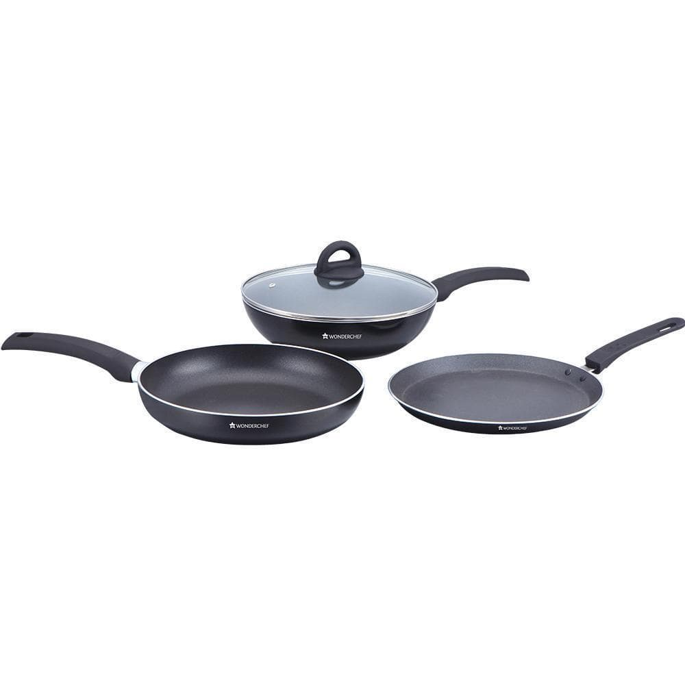 Wonderchef Black Beauty Set Of 4