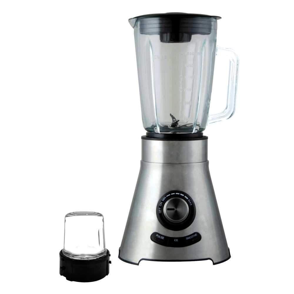 Prato Premium 600W Mixer Grinder with 2 Jars (Steel and Transparent)