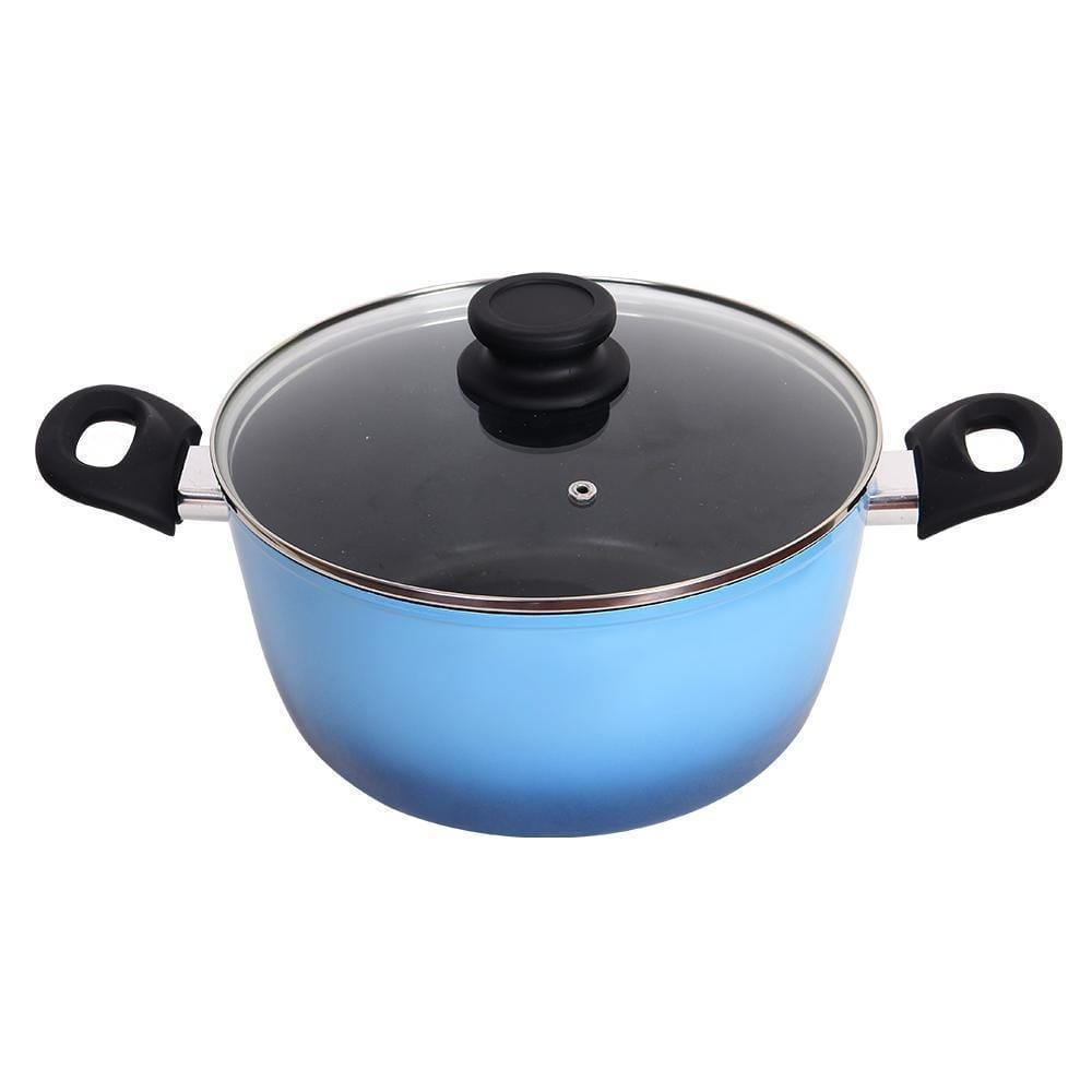 Wonderchef Sapphire Forged 20cm Casserole with lid