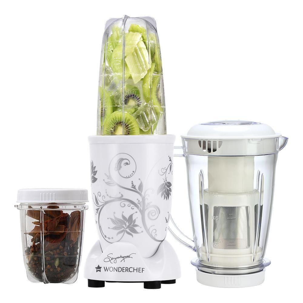 Wonderchef Nutri-blend White with Juicer attachment