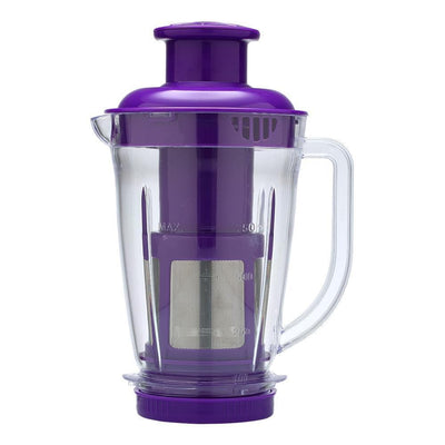 Nutri-blend Mixer Grinder 3 Jars With Juicer Attachment, 400W-Purple-Nutri-blend