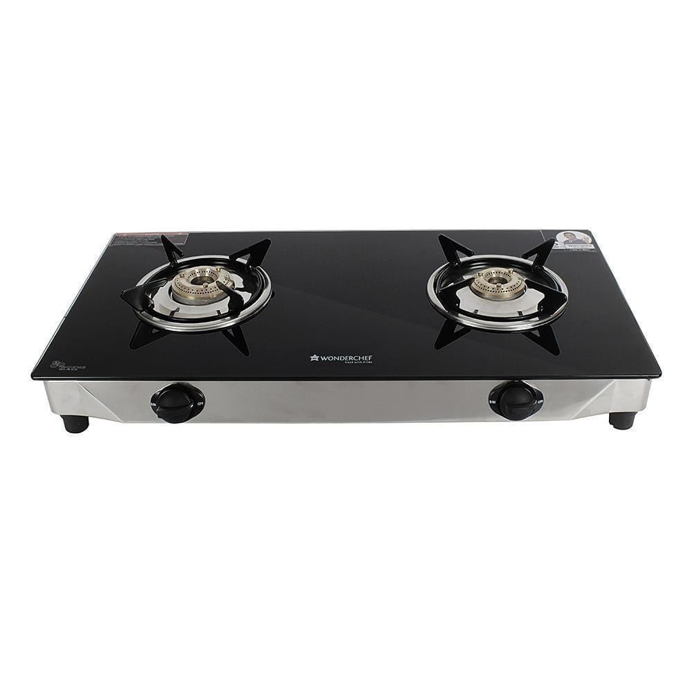 Wonderchef Energy Glass Cooktop 2 Burner