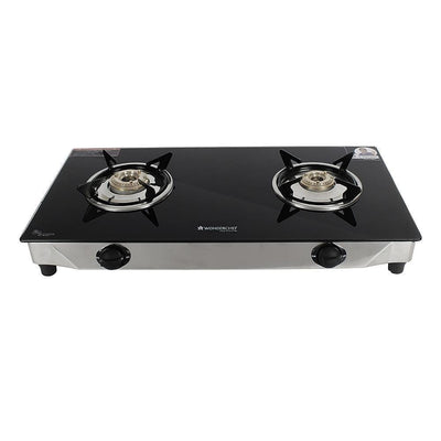 Wonderchef Energy Glass Cooktop 2 Burner-Cookware