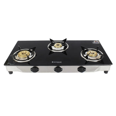Energy 3 Burner Glass Cooktop-Cookware