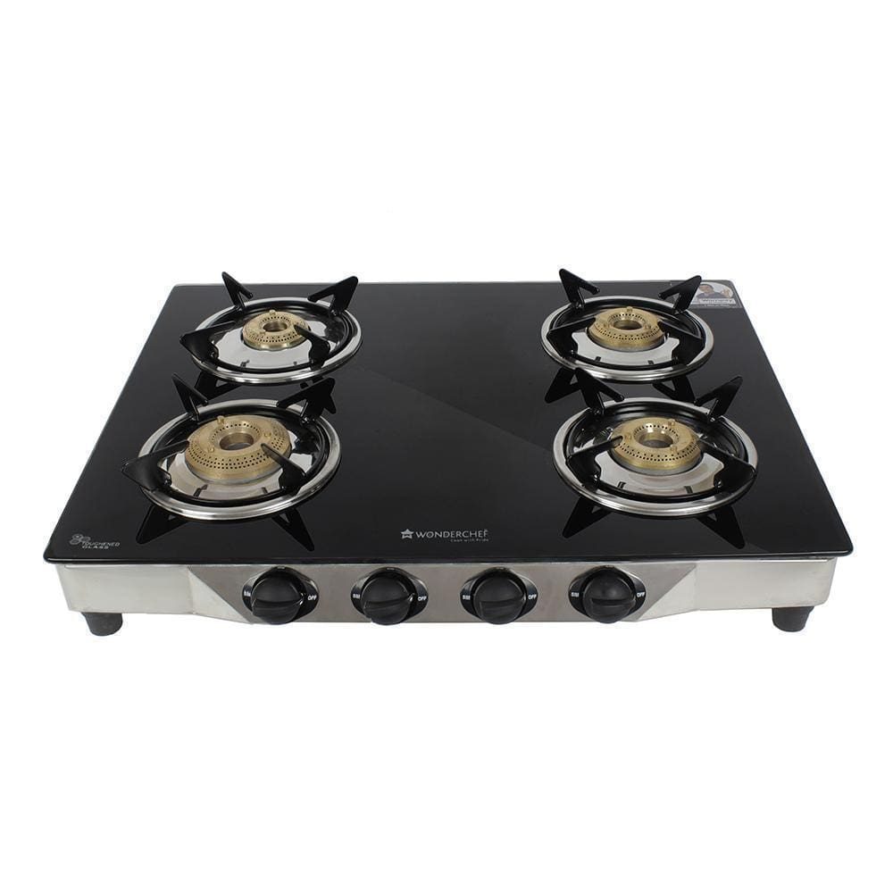 Wonderchef Energy 4 Burner Glass Cooktop