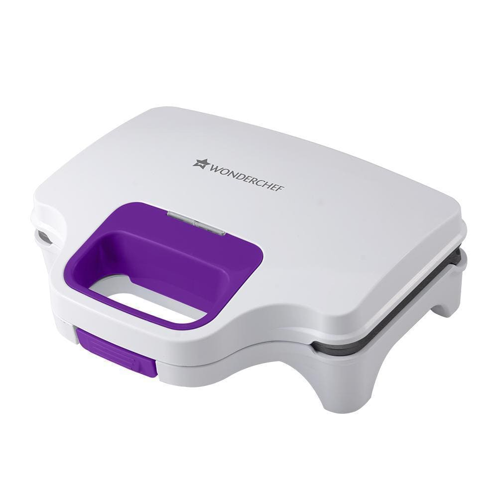 Deep Pocket Grill Sandwich Maker, 830W, White