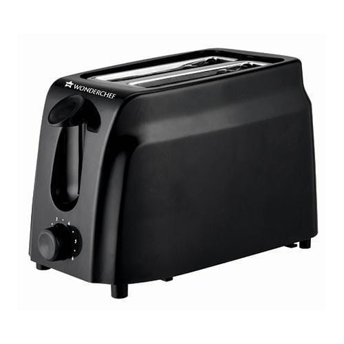 Wonderchef Ultima Slice Pop Up Toaster with 7 Browning Controls, 750W, Black