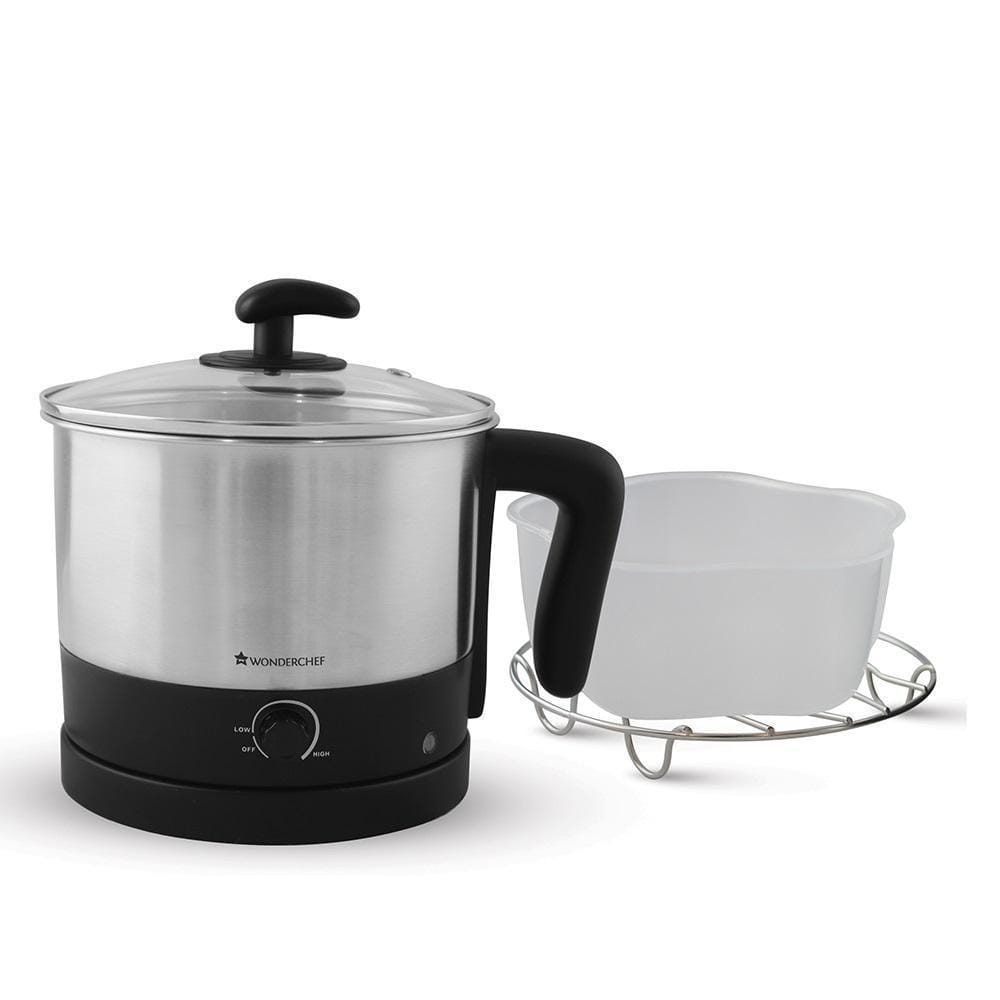 Prato Multi-Cook Stainless Steel 1.2L Electric Kettle, 600W