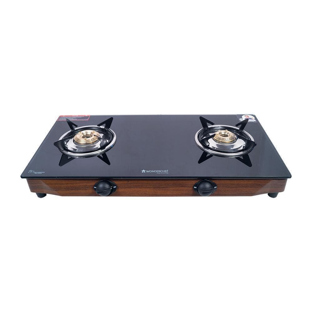 Wonderchef Eco Star 2 Burner Glass Cooktop