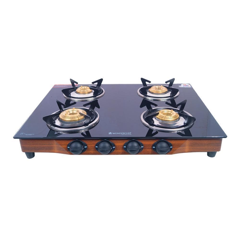 Wonderchef Eco Star 4 Burner Glass Cooktop