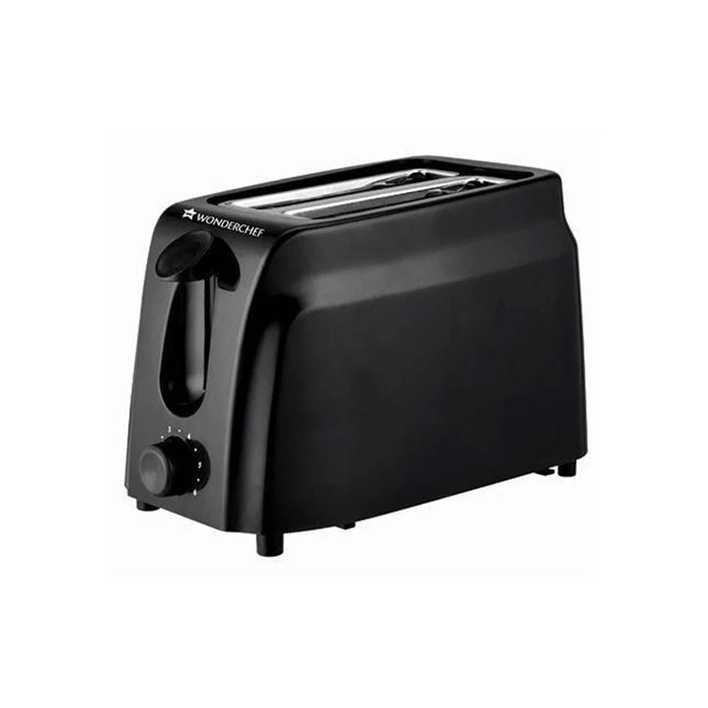 Wonderchef Acura Slice Pop Up Toaster with 7 Browning Controls, 750W, Black