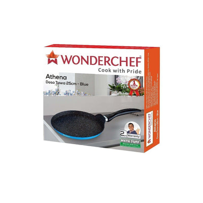 Wonderchef Athena Dosa Tawa - 25Cm (Blue)-Cookware