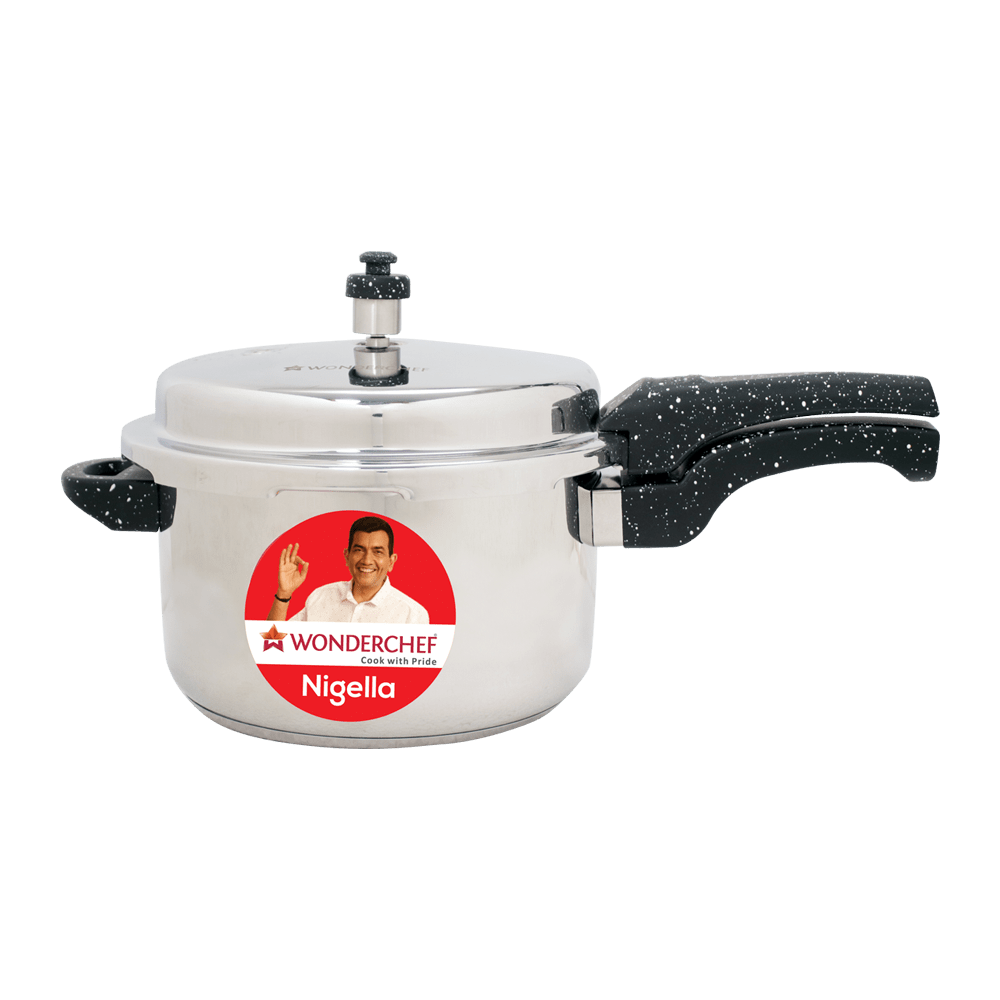 Wonderchef Nigella Pressure Cooker Granite 7L
