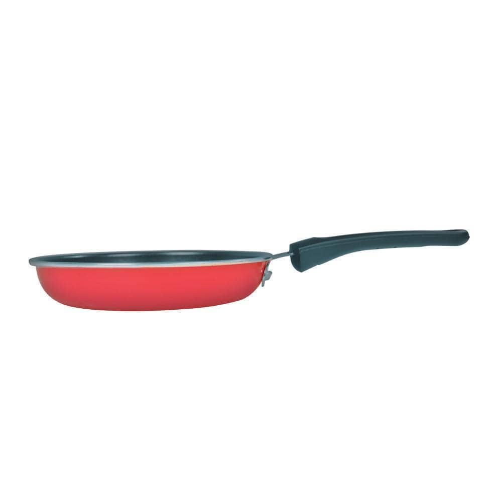 Little Samson Steel Nonstick Frying Pan -16cm, 0.5L, 0.9mm, Red