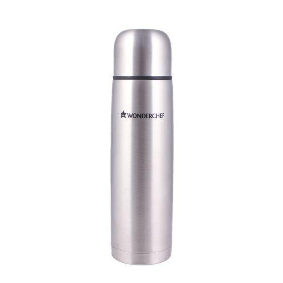 Hot-Bot Double Wall Stainless Steel Vacuum Insulated Hot and Cold Flask, 1000 ml