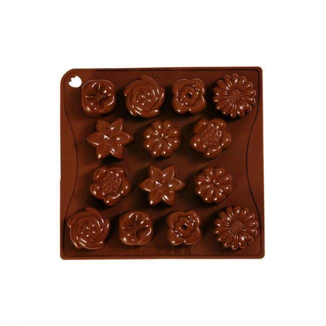 Pavoni Platinum Silicone Choco-Ice Bouquet Mould