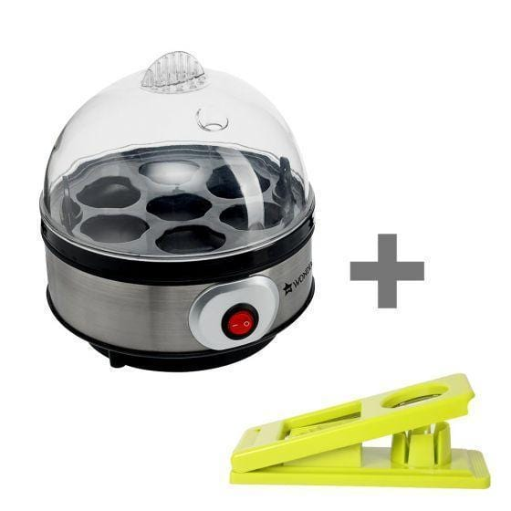 Wonderchef Egg Boiler + 2 In 1 Egg Slicer