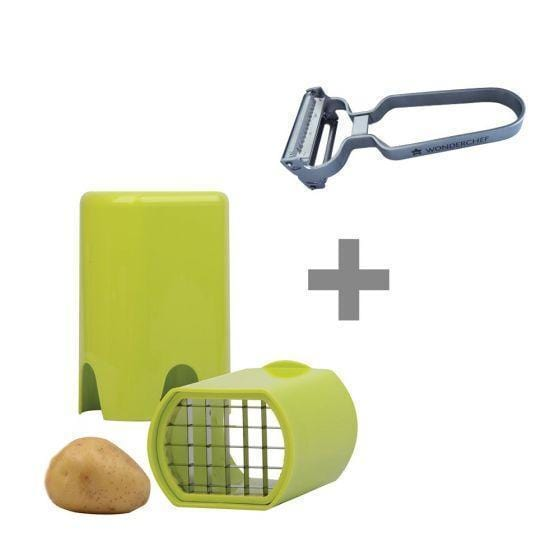 Wonderchef Fries Cutter + 2 In 1 Peeler