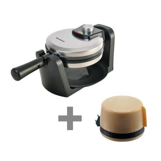Wonderchef Belgian Waffle Maker + Hot Meals Mini