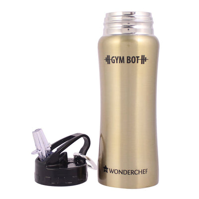 Wonderchef Gym Bot Single Wall Bottle-Flasks