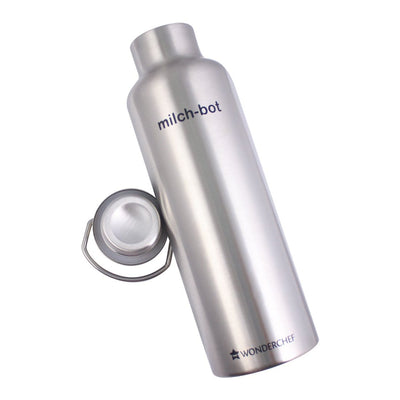 Milch-Bot Double Wall Stainless Steel Vacuum Insulated Hot and Cold Flask-Flasks