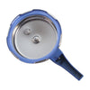 Wonderchef Nigella Induction Base Stainless Steel Pressure Cooker with Outer Lid Blue-Cookware