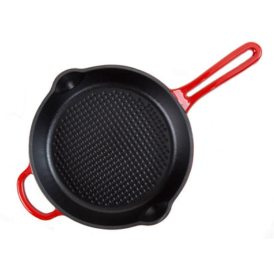 Wonderchef Ferro Cast-Iron  Frying Pan - 25cm Red-Cookware