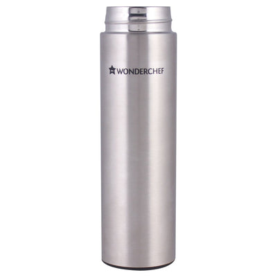 Wonderchef Nutri-Bot 480Ml (Steel)-Flasks