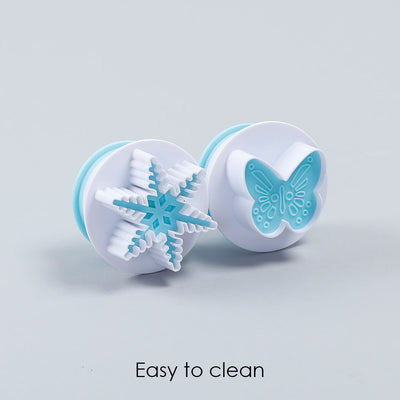 Ambrosia Plunge Cutter - Big Butterfly Shape, 2Pc-Bakeware
