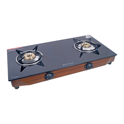 Wonderchef Eco Star 2 Burner Cooktop-Cookware