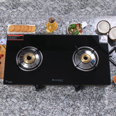 Eco Star 2 Burner Glass Cooktop-Cooktops