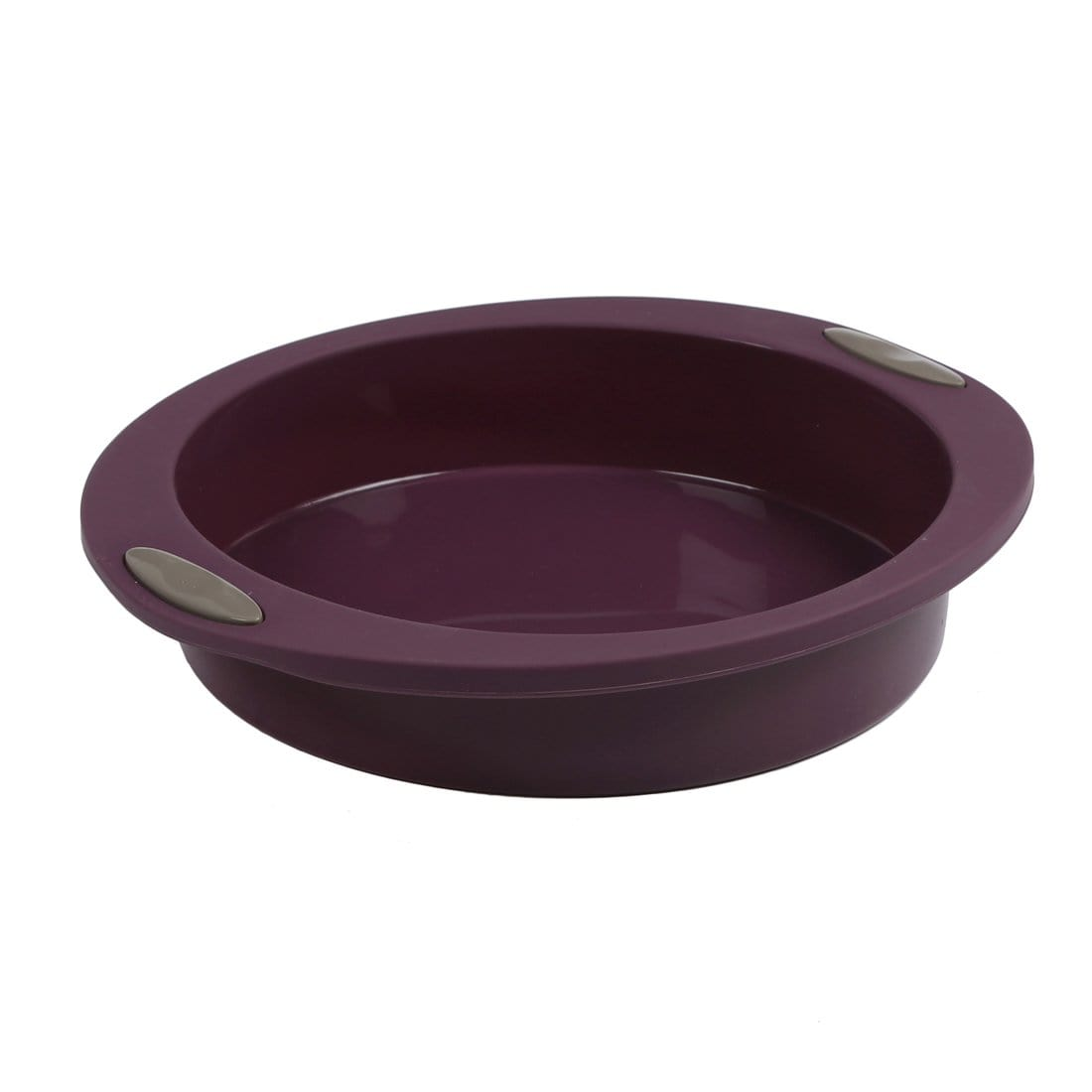 Platinum Silicone Cake Mould, Round, Purple