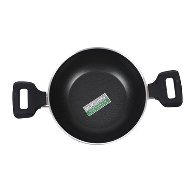 Wonderchef Ballerina Wok With Lid 20Cm - 1.38L-Cookware