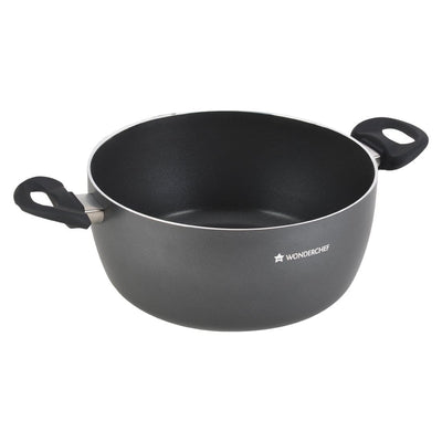 Wonderchef Premia Casserole With Lid 24Cm-Cookware