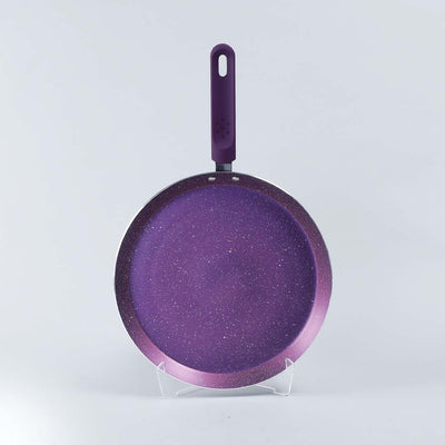 Orchid Aluminium Nonstick Cookware Set, 4Pc, Purple-Cookware