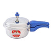 Nigella Induction Base Stainless Steel Pressure Cooker with Outer Lid Blue-Cookware