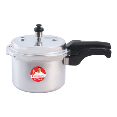 Ultima Induction Base Aluminium Pressure Cooker With Outer Lid-Cookware