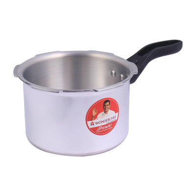 Wonderchef Power Outer Lid Pressure Cooker 3L (Silver)-Cookware