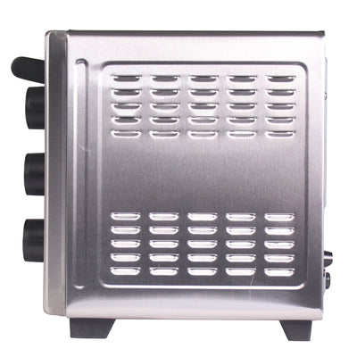Wonderchef 19L Stainless Steel Oven Toaster Griller OTG, 1280W, Silver-Appliances