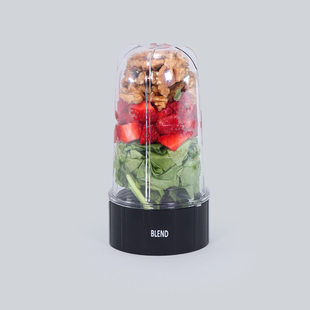 Nutri-blend B - Long Jar with Black Base Set