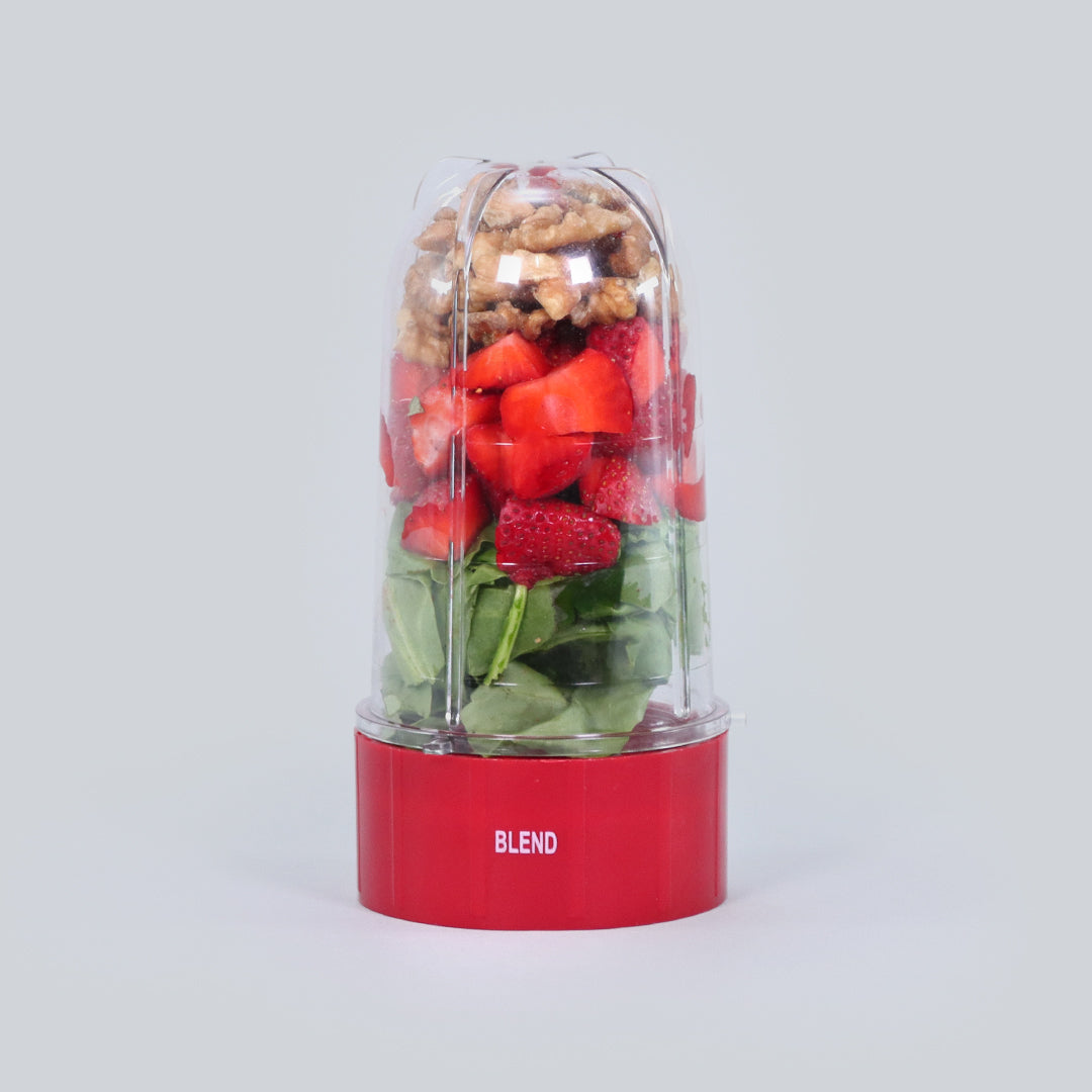 Nutri-Blend B - Long Jar with Red Base Set