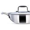 Wonderchef Nigella 3-Ply Stainless Steel Kadhai 20cm-Cookware