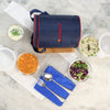 Nutri-Meal Lunch Box With Bag and 3 Containers-Kitchen Accessories