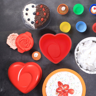 Wonderchef Pavoni Heart-With Love Mould-Bakeware