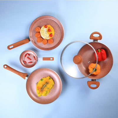 Wonderchef Rose Gold Set-Cookware