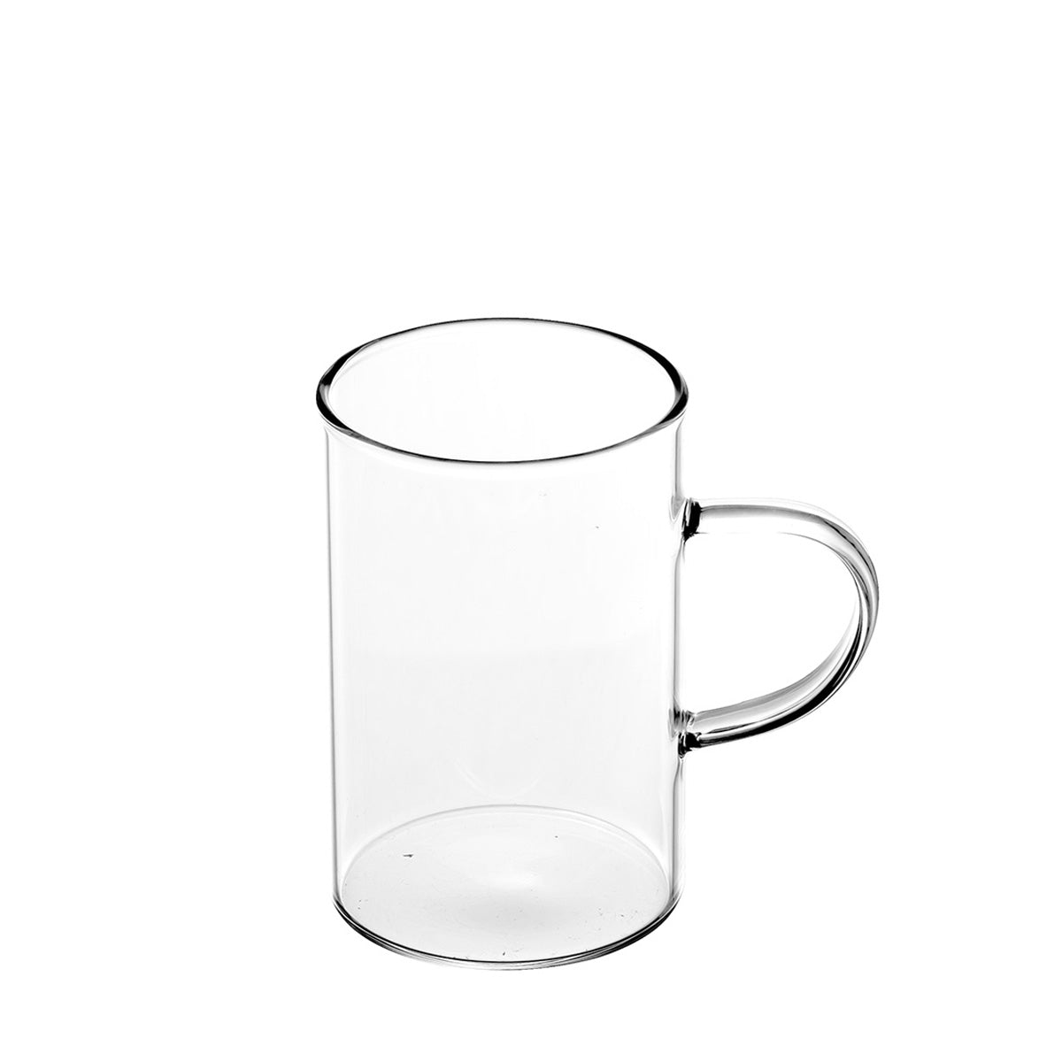 Cuba Borosilicate Glass Mugs 300ml -  Set Of 6 Pcs By Wonderchef