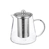 Modern Borosilicate Glass Tea Pot/Kettles With Removable Infuser 850ml By Wonderchef