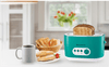 Regalia Pop Up Toaster with 7 Browning Controls, 780W, Green-Appliances