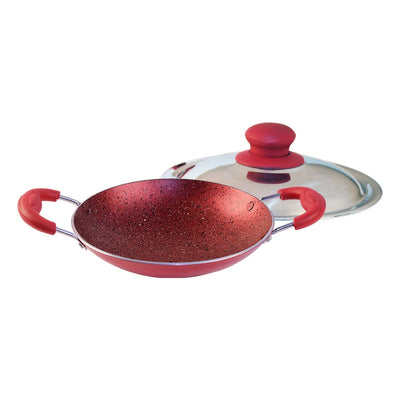 Wonderchef Appachetty With Lid Crimson-Cookware