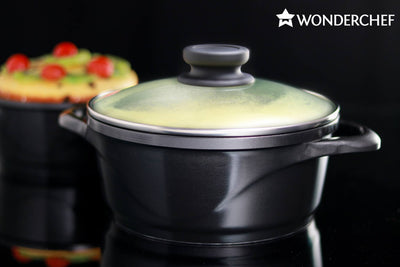 Wonderchef Ceramide Set - Black